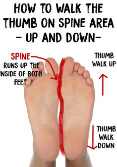 Amazing Reflexology Trick to Relieve Back Pain