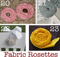 Because fabric flowers never die & don't need water!