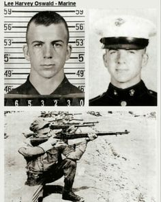 These photos of Oswald in the marines show he was a professional sniper  Brianna