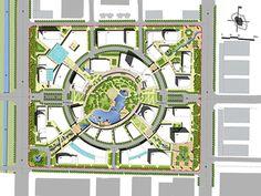 G2 Studioworks | Central Plaza Master Plan