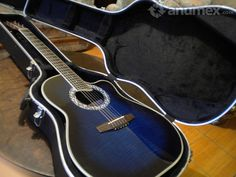 Guitarra electroacustica, estilo ovation, marca CARAYA bien