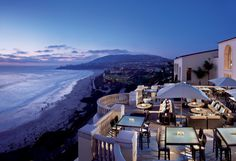 The Ritz Carlton Laguna Niguel is perched atop a 150 foot bluff with cascading views of the Pacific Ocean