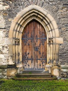 1373 Church Entrance Doors III