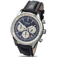 077049bd471 Sekonda 3443 Midnight Blue Gents Chrono Watch RRP£69.99 NOW£39.95  Over40%  OFF