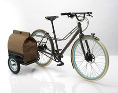 Anthropology calls this a 'cargo style' bike.  According to their post it's all the rage in 'Amsterdam'.