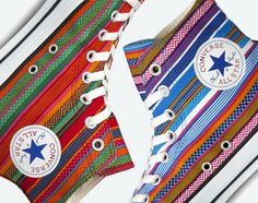 Converse Japan Chuck Taylor All-Star Huipil Hi gets its inspiration from the Huipil pattern that hails from Guatemala. Everything about the classic Chuck otherwise remains unchanged
