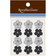 Recollections™ Flower Adhesive Embellishments