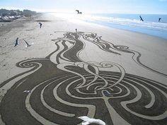 Sand Art : Un grain de sable artistique