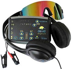 DAVID Delight Pro with MultiColor Eyeset  Innovative nonpharmaceutical Tool to increase Mental Health increased Relaxation reduce mild Depression Sleeping problems and Anxiety *** Check out the image by visiting the link.