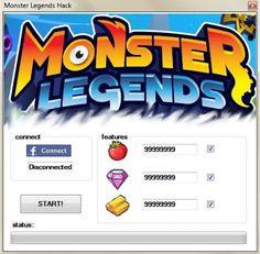15 Best <b>Monster Legends Cheats</b> images | Free gems, Glitch, Hack tool
