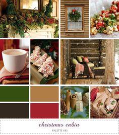 INSPIRE. PALETTE #83: CHRISTMAS CABIN