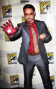Robert Downey Jr. loves Comic Con and Comic Con loves him God I hope he is there this year ;D