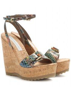 WooooooW!  Sandali Linda con zeppa - Tacco alto - Sandali - Scarpe - Stella McCartney #bag #stellamccartney #women #designer #covetme