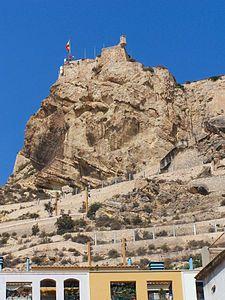 ESpaña Alicante Castillo de Santa Bárbara