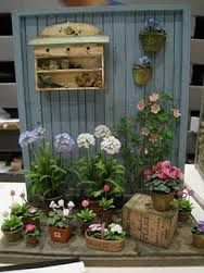 Image result for dollhouse gardens