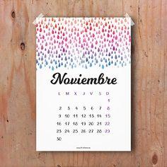 Calendario Noviembre 2015 descargable gratis