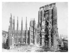 Templo de la Sagrada Família, Barcelona,1915-1920. (AFCEC) / Foto: Josep Maria Co de Triola   REPÒRTERS GRÀFICS