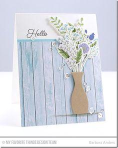MFT Beautiful Blooms Card Kit - Barbara Anders  #mftstamps