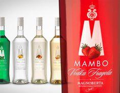 MAMBO NEW LOOK (10/12/2012).  Da Prodotto di Successo a Linea di Prodotti. Mambo di Magnoberta è stata la prima vodka lemon ad apparire sul mercato italiano e il suo successo è stato eccezionale. Carmi e Ubertis si è occupata del restyling delle etichette per tutta la linea nell'ottica di un avvicinamento ai target più giovani.