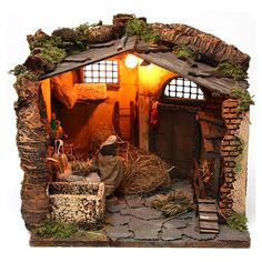 1 million+ Stunning Free Images to Use Anywhere Nativity Stable, Diy Nativity, Christmas Nativity Scene, Christmas Diy, Free To Use Images, Miniature Houses, Fairy Houses, Reggio, Christmas Pictures