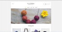 Sito web per le creazioni Made in Italy di Ylleanna
