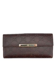 Gucci Brown Guccissima Leather Snap Wallet (30602). Get the lowest price on Gucci Brown Guccissima Leather Snap Wallet (30602) and other fabulous designer clothing and accessories! Shop Tradesy now