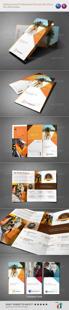 Multipurpose Professional Services Brochure - Corporate Brochures