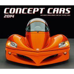 Concept Cars 2014 Deluxe Wall Calendar | Transportation SALE | CALENDARS.COM