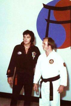 Elvis with Wayne Carman