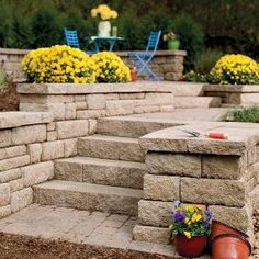 Modular concrete blocks for retaining walls and garden projects are available in a huge range of styles and prices. This article surveys the choices and explains the options.