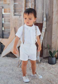 Short blanc Enfant et Bébé Cérémonie, Mariage et Baptême