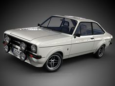 Ford Escort RS1600 (1968-1974) – The RS1600 a detuned Formula 3 engine designated BDA, for Belt Drive A Series. They where build at Ford's Advanced Vehicle Operations (AVO) facility located at the Aveley Plant in South Essex. As well as higher performance engines and sports suspension, these models featured strengthened bodyshells, making them good for rallying. #ClassicCar #Ford #Escort #Rally #Sixties #Seventies #TwoDoor #Coupe