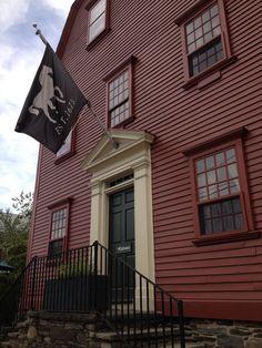 America's oldest tavern - White Horse Tavern,Newport,Rhode Island