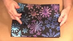 Quick Christmas Cards with Imagine Crafts Iridescent Creative Medium and...