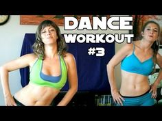 Fun Dance Workout #3 For Weight Loss, Core, Abs & Flat Tummy at Home Beginners Cardio Exercises - YouTube