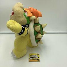 Super Mario Bros King Koopa Bowser Plush Banpresto 2006 Prize Japan Tags #BANPRESTO
