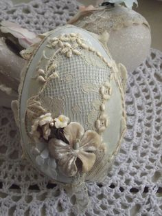 Easter-Cerri's gorgeous lace egg!
