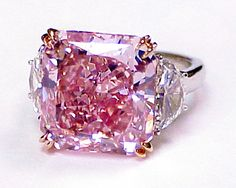 Natural Pink Color Diamonds | Natural Color Diamonds, Diamonds | Thomas Michaels Designers