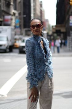 ADVANCED STYLE: Lanvin Features 82-Year-Old Jacquie Tajah Murdock in Fall/Winter Campaign