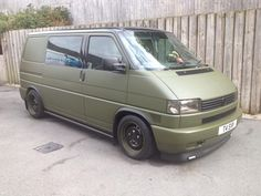 Volkswagen T4 Transporter - matte paint job - VW T4 Forum