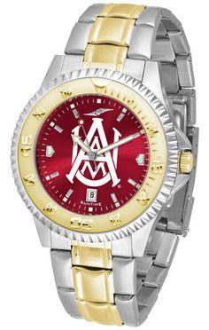 Alabama A&M Bulldogs Competitor Two Tone Anochrome Watch