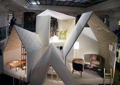 Les Necessaires dHermès collection by Philippe Nigro furniture 2 exhibit design: