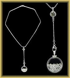 The Original Bebbre Pendulum Shake Necklace Customizing Page from Stelle Sheen