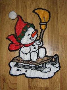snowman sled2