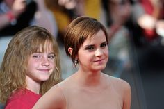 "Emma Watson (Hermione Granger) | The ""Harry Potter"" Cast At The First Vs. Last Premiere"