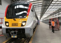 Greater Anglia has shown off one of the first new commuter trains that is expected to transform commuter services in Essex and part of Suffolk from next year. Commuter Train, British Rail, Electric Locomotive, Derby, Diesel, Live, News, Train, Diesel Fuel