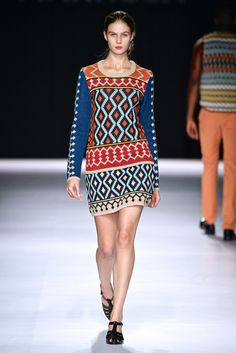 how cool is this jersey dress by Maxhosa Knitwear????