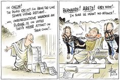 Cartoon by David Pope published in The Canberra Times 11 September 2013