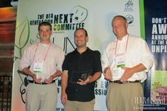 Conor Carey (right) was a finalist for this year's Young Grower Award, presented by Grower Talks magazine. Congrats, Conor!
