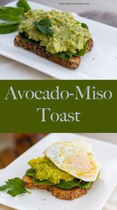 Avocado-Miso Toast